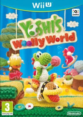 Yoshi's Woolly World Wii U Cover