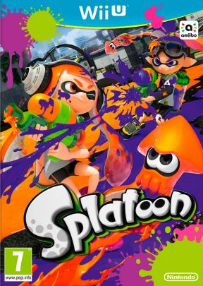 Splatoon Wii U Cover