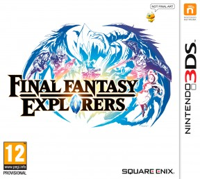 Final Fantasy Explorers 3DS Cover
