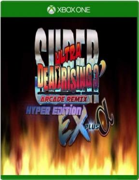 Super Ultra Dead Rising 3 Arcade Remix Hyper Edition EX Plus Alpha Xbox One Cover