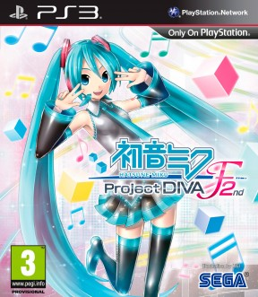 Hatsune Miku: Project DIVA F 2nd PS3 Cover