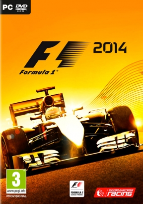 F1 2014 PC Cover