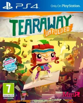 Tearaway: Avventure di carta PS4 Cover