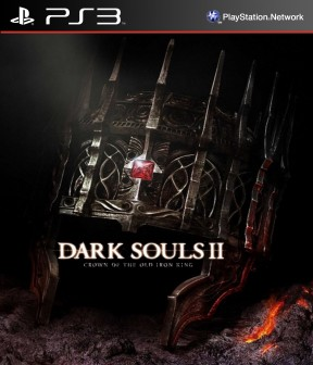 Dark Souls II: Crown of the Old Iron King PS3 Cover