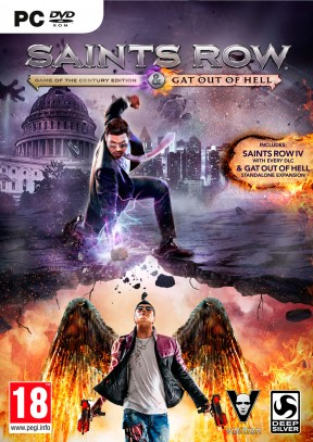 Saints Row IV: Re-Elected PC Cover