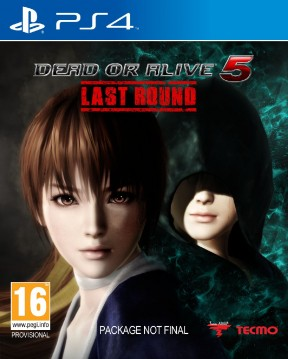 Dead or Alive 5: Last Round PS4 Cover