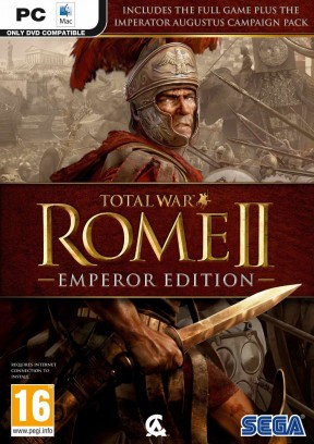 Total War: ROME II - Emperor Edition PC Cover