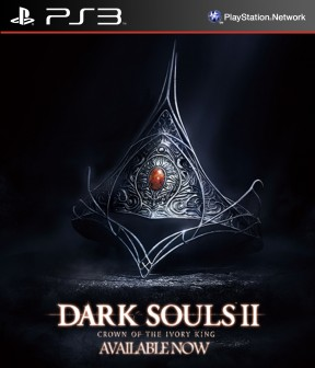 Dark Souls II - Crown of the Ivory King PS3 Cover