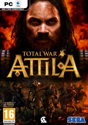 Total War: Attila PC Cover