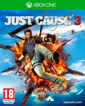 Just Cause 3 Xbox One Cover