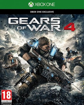 Gears of War 4 Xbox One Cover