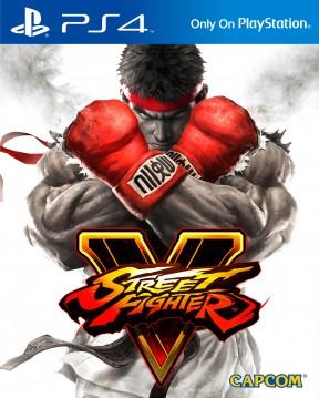 Street Fighter V PS4 Cover