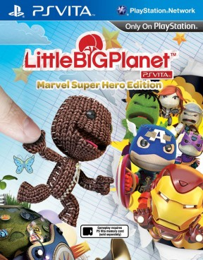 LittleBigPlanet PS Vita Marvel Super Hero Edition PS Vita Cover