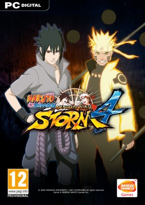 Naruto Shippuden: Ultimate Ninja Storm 4 PC Cover