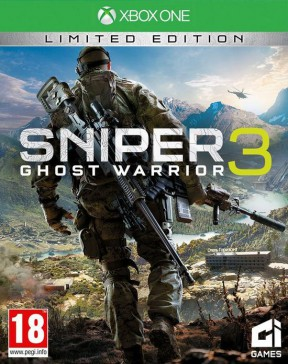 Sniper: Ghost Warrior 3 Xbox One Cover