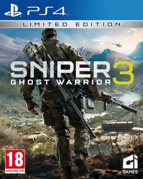Sniper: Ghost Warrior 3 PS4 Cover
