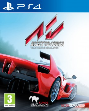 Assetto Corsa PS4 Cover