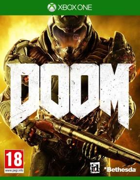 DOOM (2016) Xbox One Cover