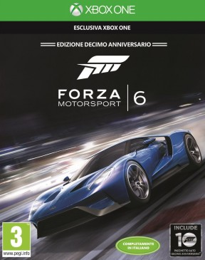 Forza Motorsport 6 Xbox One Cover