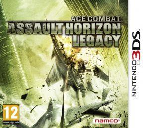 Ace Combat: Assault Horizon Legacy + 3DS Cover