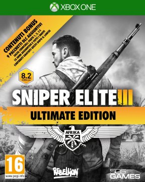 Sniper Elite 3 Ultimate Edition Xbox One Cover