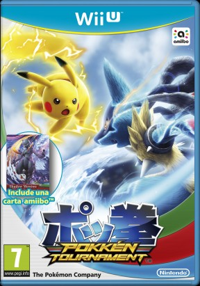 Pokkén Tournament Wii U Cover