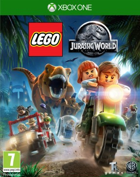 LEGO Jurassic World Xbox One Cover