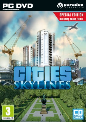 Cities: Skylines PC Cover