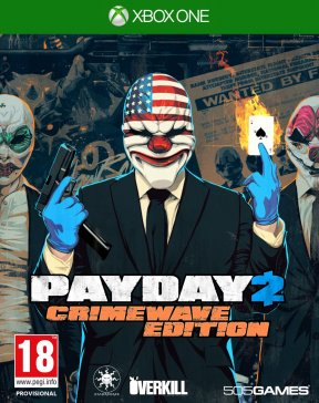 Payday 2: Crimewave Edition Xbox One Cover