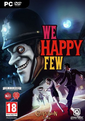 We Happy Few PC Cover