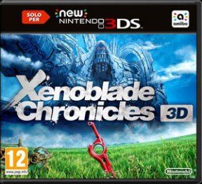 Xenoblade Chronicles 3D 3DS Cover