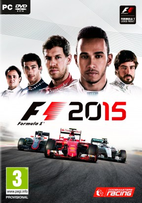 F1 2015 PC Cover