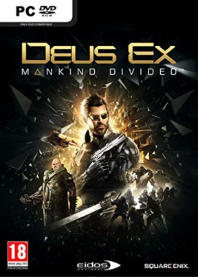 Deus Ex: Mankind Divided PC Cover