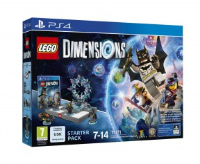 LEGO: Dimensions PS4 Cover