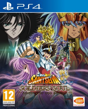 Saint Seiya: Soldiers' Soul PS4 Cover
