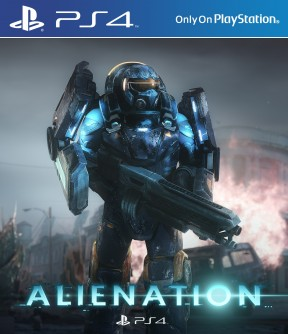 Alienation PS4 Cover