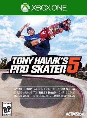 Tony Hawk's Pro Skater 5 Xbox One Cover