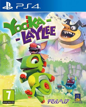 Yooka-Laylee PS4 Cover