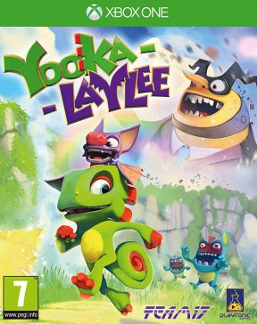 Yooka-Laylee Xbox One Cover