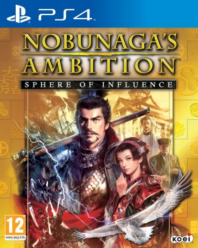 Nobunaga's Ambition: Sphere of Influence PS4 Cover