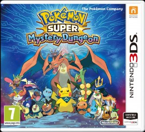 Pokémon Super Mystery Dungeon 3DS Cover