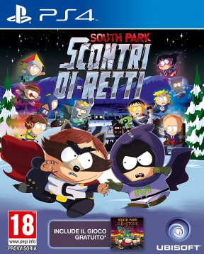 South Park: Scontri Di-Retti PS4 Cover