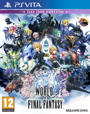 World of Final Fantasy PS Vita Cover