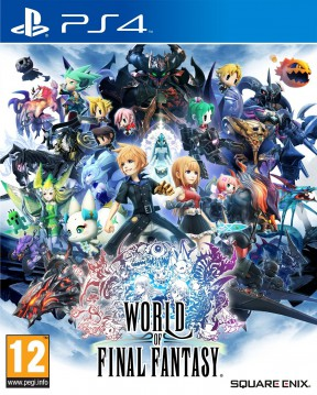 World of Final Fantasy PS4 Cover