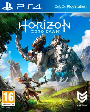 Horizon: Zero Dawn PS4 Cover