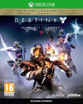 Destiny - Il Re dei Corrotti Xbox One Cover