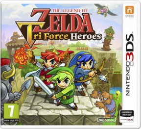 The Legend of Zelda: Triforce Heroes 3DS Cover