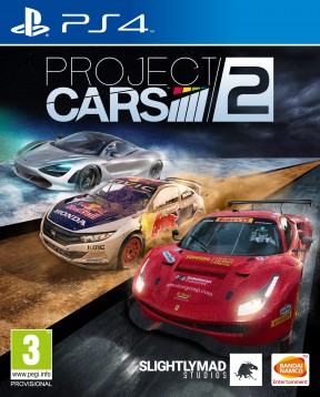 Project CARS 2 PS4 Cover