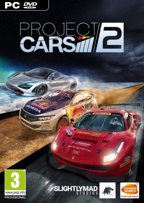 Project CARS 2 PC Cover