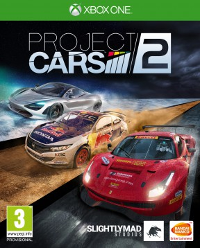 Project CARS 2 Xbox One Cover